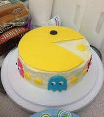 pacman cakes u2013 decoration ideas little birthday cakes