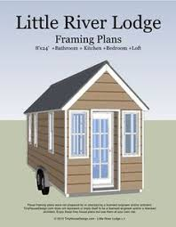 Tiny House On Wheels Plans Free 8x12 Tiny House With A Lower Level Sleeping Option Kitchen