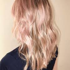 rose gold hair color 13 rose gold haircolors to try redken