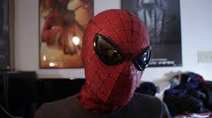 the amazing spider man replica mask youtube