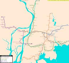 pusan on map busan real distance metro map