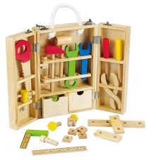 amazon com classic world wood carpenter u0027s set toys u0026 games