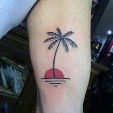 palm tree palm and tatting