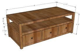 Woodworking Building A Coffee Table by More Like Home Rhyan Coffee Table