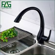 black pull out kitchen faucet free shipping new design pull out faucet black swivel kitchen sink