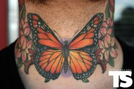 monarch butterfly by fish tattoos