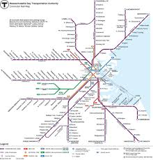 Subway Boston Map by Home Buyers Relocation Guide To Commuting In Boston