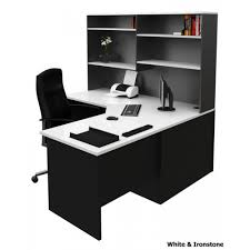 Office Desk Au Corner Office Desk Workstation With Hutch White Ironstone For