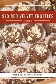 recipe 10 red velvet cake truffles truffle cost red velvet