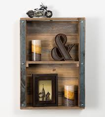 industrial wall shelving wall shelves design wood and metal wall shelves by cole and grey