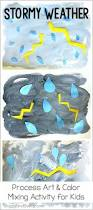 weather activities for kids thunderstorm art project buggy and