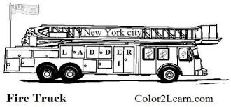 dump truck coloring pages kids print color craft free