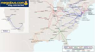Amtrak Route Map Usa by Intercity Bus The Antiplanner