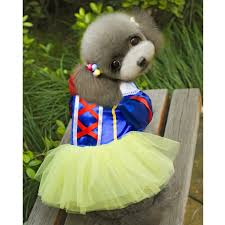 Disney Halloween Costumes Dogs Amazon Pet Dog Snow White Disney Halloween Dress Costume