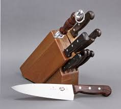 vn46153 victorinox 11 piece kitchen knife block set