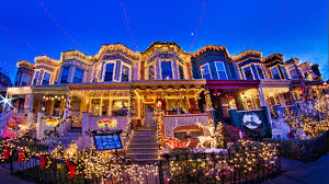 dyker heights christmas lights tour 2017 new york city holiday tourist guide simply audree kate