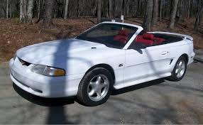 1995 mustang gt cobra 1995 mustang gt convertible white 94 04 mustangs