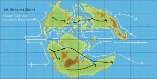 Ocean Currents Map Mystaran Maps