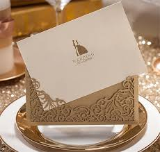 Marriage Card 5sets Wedding Invitation Cards With Envelopes Seals Aesthete