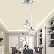 Restaurant Kitchen Lighting Chrome And Crystal Pendant Lighting Crystal Linear Chrome Pendant