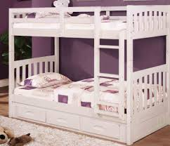 white bunk bed with stairs storage fun ideas white bunk bed with