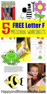 5 free preschool worksheets for preschool alphabet letter f