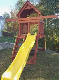 Backyard Swing Set Ideas Backyard Swing Set Ideas Lovely Custom Made Space Saver Swing Set
