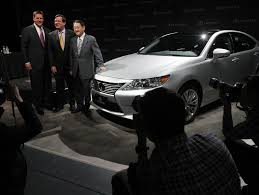 products of toyota company toyota will make lexus es 350 in kentucky the new york times