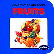 navneet vikas tiny board books fruits english online in india buy
