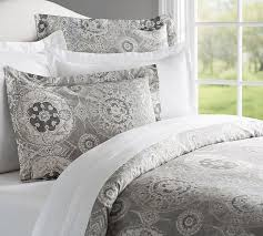 Pottery Barn Full Size Bed Jacquelyn Duvet Cover U0026 Sham Pottery Barn