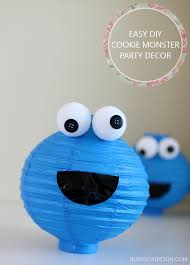 cookie monster table decorations cookie monster inspired party crafts