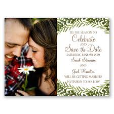 save the date wedding cards tis the season card save the date s bridal bargains