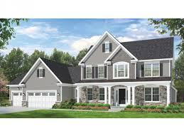 colonial style house plans eplans colonial house plan space where it counts 2523 square