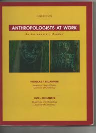 anthropologists at work an introductory reader 3rd edition