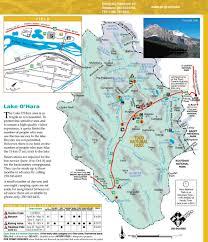 Banff National Park Map Yoho National Park Maplets
