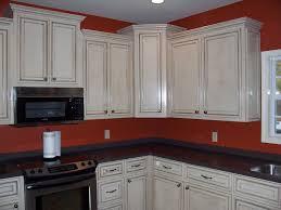 white glazed kitchen cabinets cream white glazed kitchen cabinets home design ideas decorate