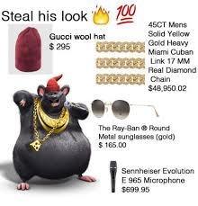 Gucci Hat Meme - steal his look oy 45ct mens solid yellow gucci wool hat gold heavy