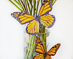 easy butterfly vase print butterflies on photo paper brie brie