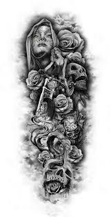 thigh sleeve tattoo designs tattoo sleeve skull tattoos pinterest tattoo tatting and tatoo