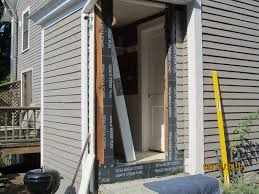 Exterior Door Threshold Replacement by How To Replace An Exterior Door A Concord Carpenter