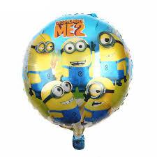minion party tszwj i 069 free shipping air balls minions balloons despicable me