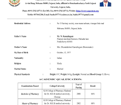 resume format in word doc fascinating mca fresher resume format pdf exle freeownload in