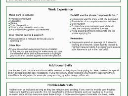 What Not To Include On A Resume Wonderful What Should Be On A Resume 10 Writing Your Resume