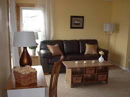living room sleek modern brown living room with glossy floor and