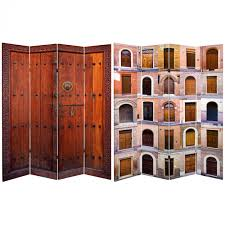 6 panel room divider buy 6 ft tall double sided doors canvas room divider 4 panel