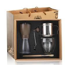 Box Coffee espresso latte cappuccino coffee accessories gift box clear cafe