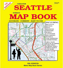 Greater Seattle Area Map by Seattle Street Map Book 7th Edition