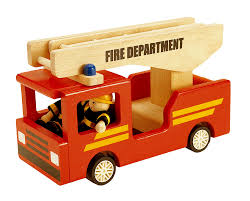wooden truck toy wooden fire truck toy temple u0026 webster