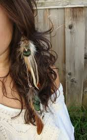 feather hair 20 hair accessories every woman should own styles weekly