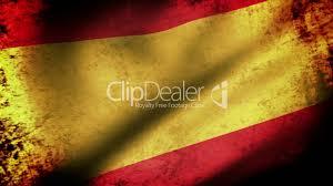 Picture Of Spain Flag Spain Flag Waving Grunge Look Lizenzfreie Stock Videos Und Clips